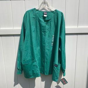 Scrubs Cherokee Workwear Jacket 4XL Green